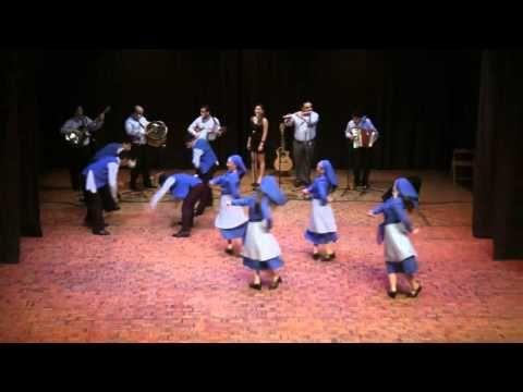 Chilean ballet folk dance: Chiloé - YouTube