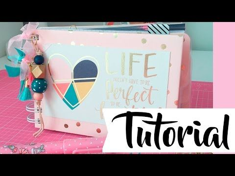 Tutorial: mi libreta para el bolso - YouTube