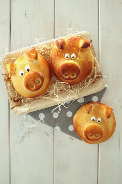 Silvester 〖Glücksschweinchen〗I am gonna bake them for new years breakfast!