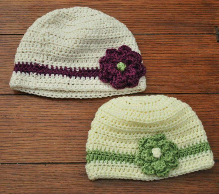Crochet hats, handmade, www.facebook.com/littlegraciescreations