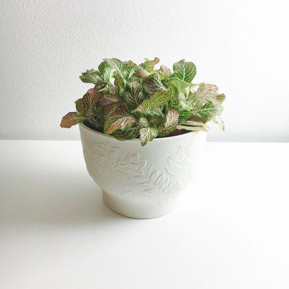 Vintage Arabia Finland ceramic flower pot by FinnishVintageOasis