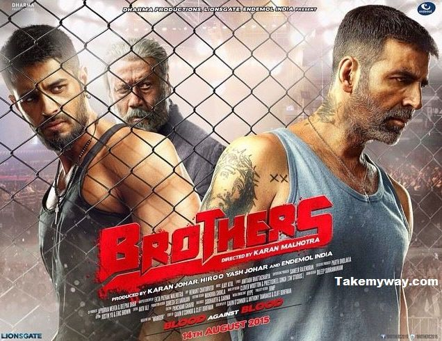 Brothers Film (2015) Official Posters, Star-Cast, Wiki, Release Date  Ft. Akshay Kumar, Sidharth Malhotra, Jacqueline Fernandez