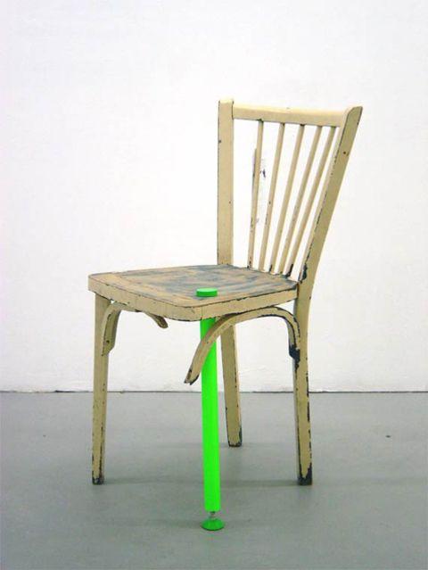 Reanim 5.5 designers #chaise #recyclage ///Seconde vie///Rénovation///Médecine