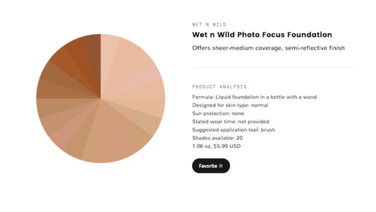 From BB creams to CC creams to powder, there are so many different types of foundation to choose from. If you don't know where to start or you're just looking for a new product, you might find Pigment File useful. It's a searchable and filterable database of every foundation on the market.