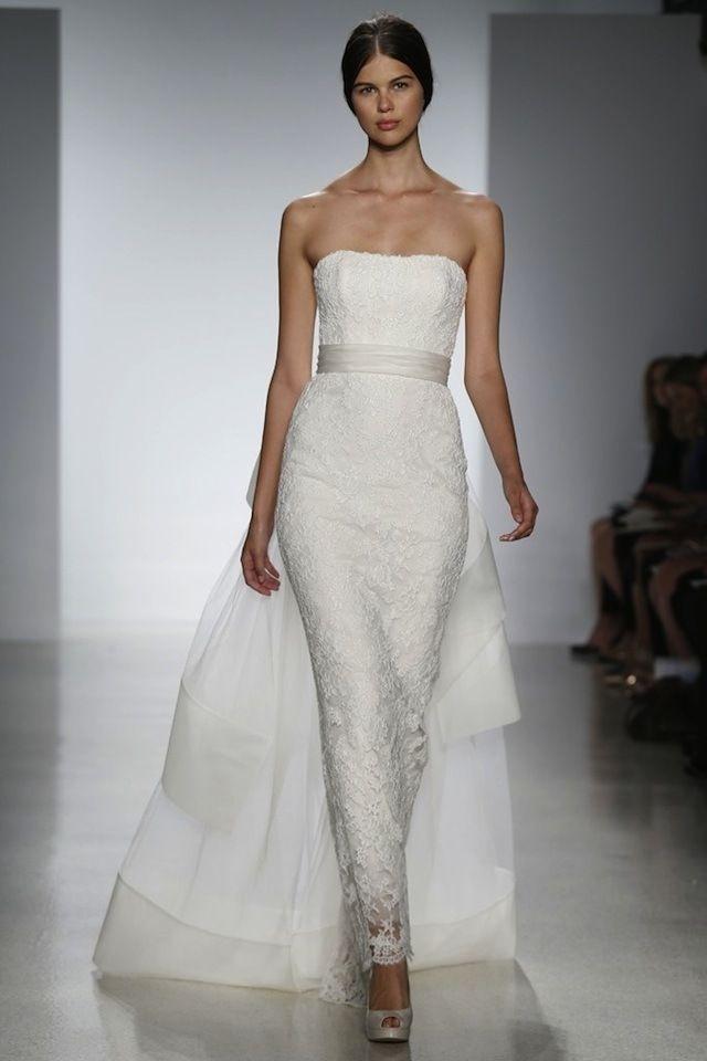 Fashion Friday: Amsale Bridal Spring 2014 | http://brideandbreakfast.ph/2013/05/24/fashion-friday-amsale-bridal-spring-2014/ | Photos: WWD