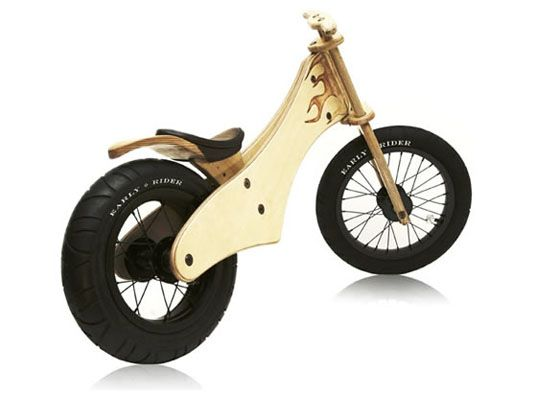Cool Wooden Bike