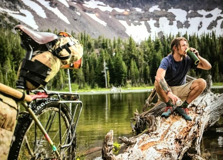 """""""I love my bike.""""  @makeyourowntrail   RELATED: ENTER TO WIN our Cycling Adventure Package valued at over $2,200 USD! → https://www.roaradventures.com/launch_contest?utm_content=buffer988e1&utm_medium=social&utm_source=pinterest.com&utm_campaign=buffer.   #bendbikepacker #bicycle #tours #cycling #adventures #RoarAdventures #bikeyouradventure"""