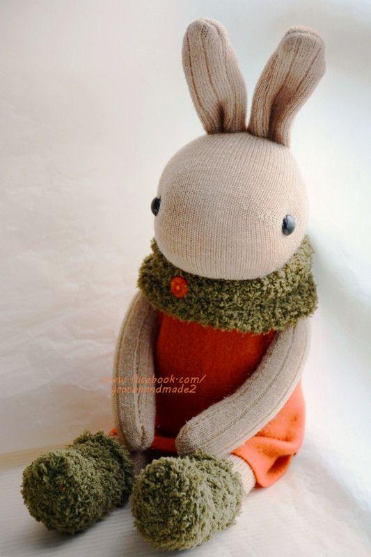 Grace--#329 sock bunny