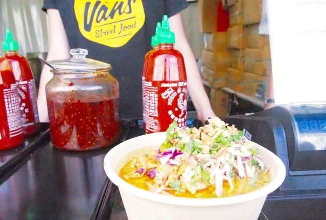 Enlighten Night Noodle Market: Miss Van's Street Food