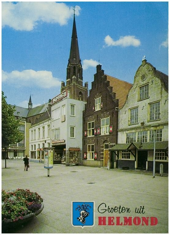 104209 Zuidzijde Markt, gezien vanaf het huis met de Luts... | Zoek resultaat | Fotohistorisch