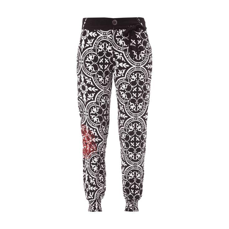 #Desigual Damen Jogpants mit Allover-Muster #Bekleidung, #Damen, #Easy Pants…