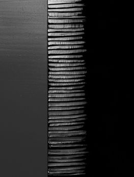 PIERRE SOULAGES http://www.widewalls.ch/artist/pierre-soulages/ #abstractexpressionism #sculpture