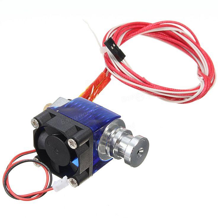 1.75 / 0.4mm Alle metall Extruder Kopf Für 3D Drucker Mit PTFE Tube Verkauf - Banggood.com