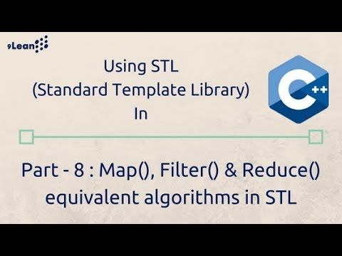 This Video Describes The Algorithms Available In C 11 Onwards Which