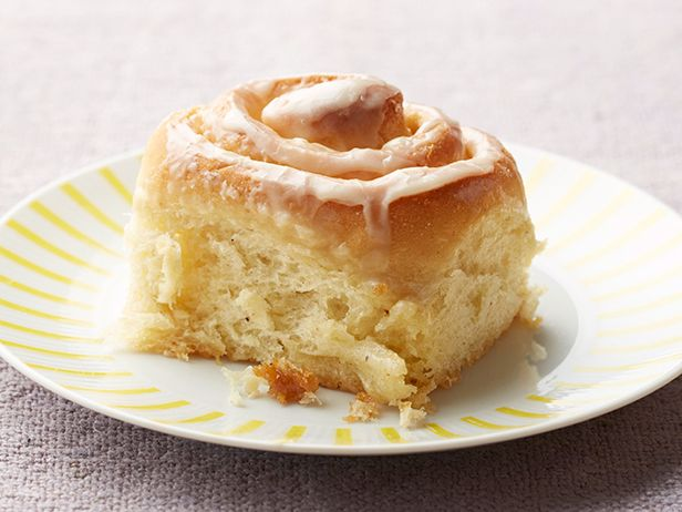 Cinnamon Buns from FoodNetwork.com. This takes time but is the best cinnamon Rolls I've ever made. The Dough can also be made into several other breads such as Mexican Chocolate Rolls or even Apple Cinnamon Rolls.. YUM