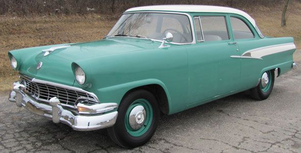 Ford E >> 1956 Ford Mainline 2Dr Sedan, straight 6 cylinder/3 on-the-tree | TangoRides | Pinterest ...