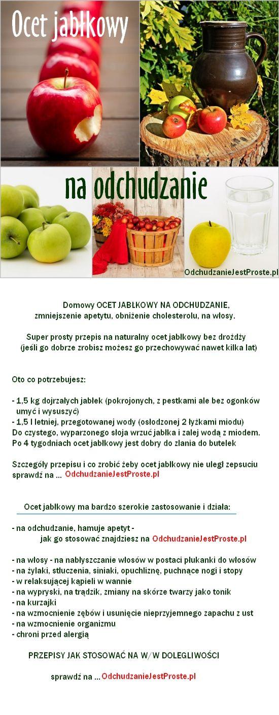 Ocet jabłkowy na odchudzanie-jak zrobić, stosowanie i właściwości