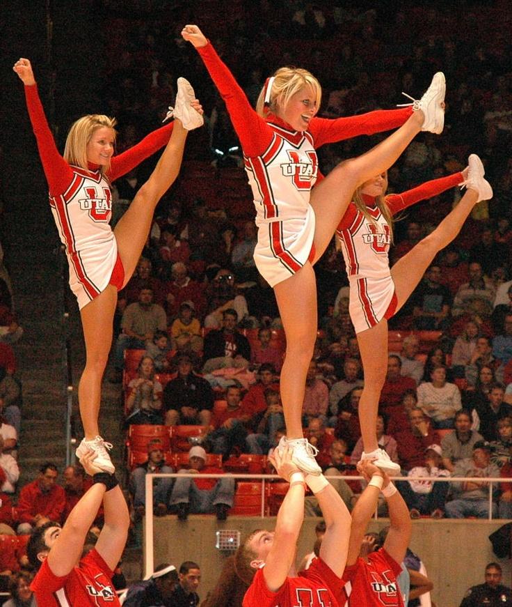 CHEER - University of Utah college cheerleaders at ...