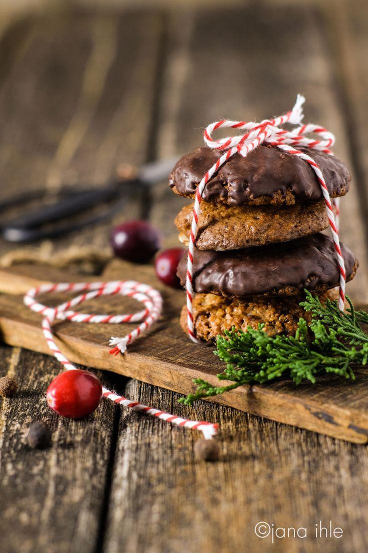 Lebkuchen zu Weihnachten Cranberry-Walnuss-Lebkuchen glutenfrei ohne Mehl