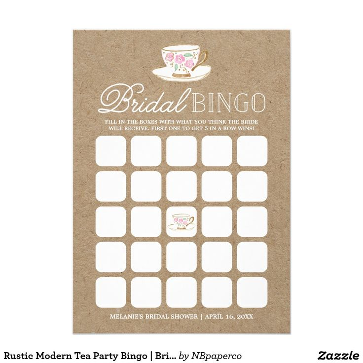 225 best WEDDING: BRIDAL BINGO CARDS images on Pinterest | Bingo ...