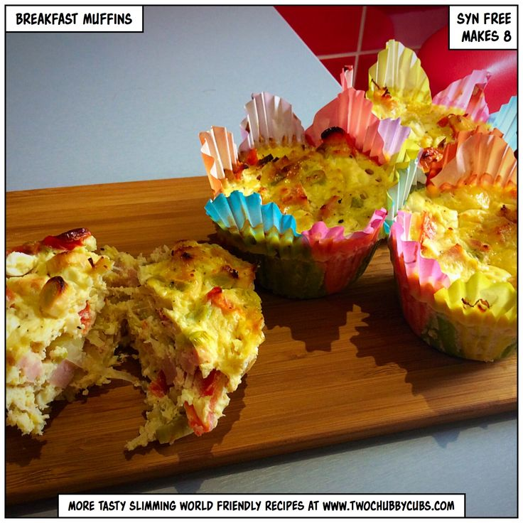 These Slimming World breakfast muffins are easy to make - just mix and cook - and use up all that nonsense in your veg drawer. Give them a go! Remember, twochubbycubs now has over 200 recipes for Slimming World - all free of charge, all healthy, all good food. You can't go wrong! Like and share!
