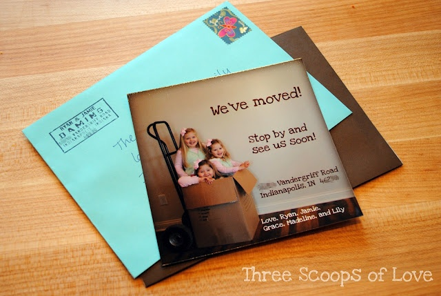 photo moving announcement