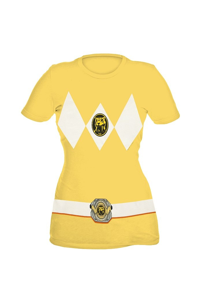 Oh my word. I was the Yellow Ranger when I was little. I NEED THIS. SABER-TOOTH TIGER!