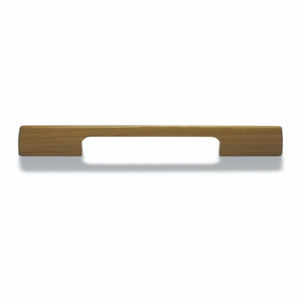 Puuvetimet ovat tehneet paluun! Siro Woody-vedin lakattuna tammena on saatavilla kahdessa eri mitassa: kokonaispituudet 215mm ja 285mm.
