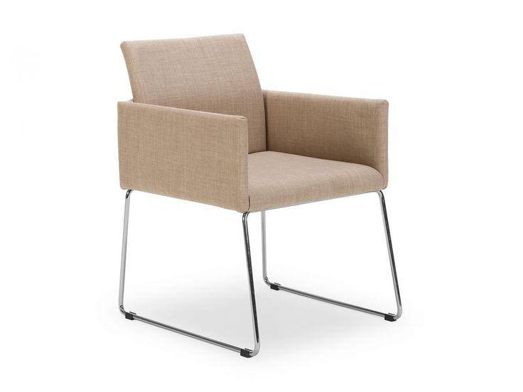 Stuhl Armlehnstuhl Beige Esszimmerstuhl Polsterstuhl Stühle Sitzmöbel Neu  SWAY