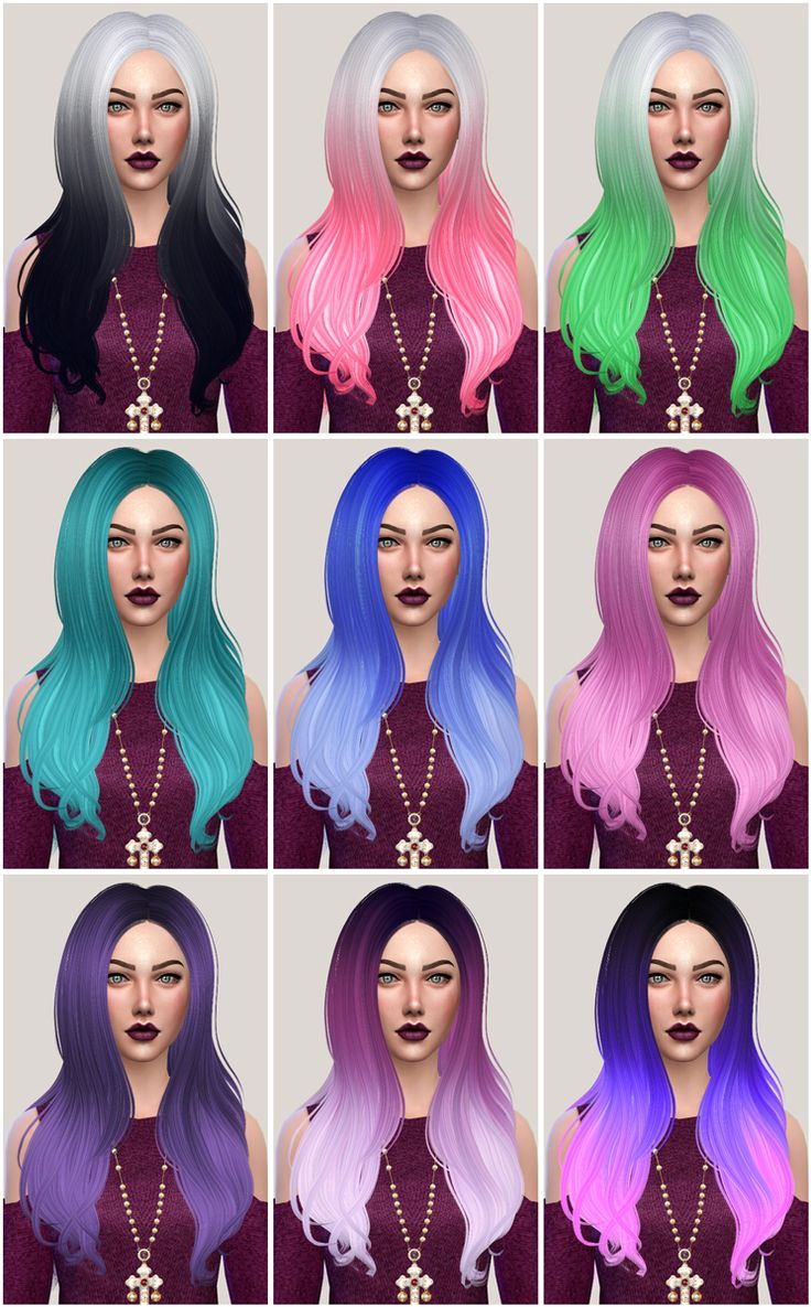 Surprising 17 Best Images About Cabelos Sims 4 Cp On Pinterest Student Hairstyle Inspiration Daily Dogsangcom