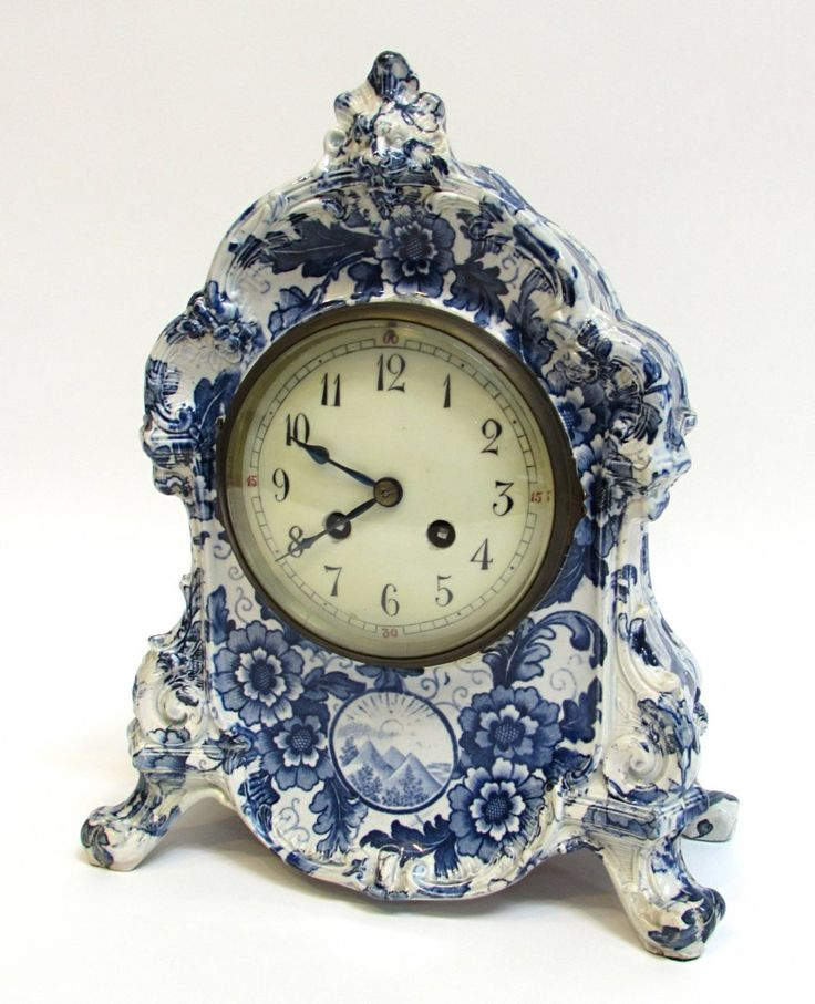 298 Best Porcelain Clocks Images On Pinterest Antique