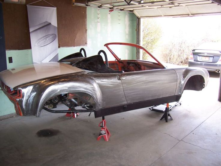 WRX-powered tube-framed Porsche 914