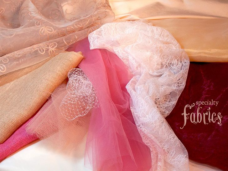 A Rustic Wedding with Fabric.com: Sewing with Specialty Fabrics   Sew4Home