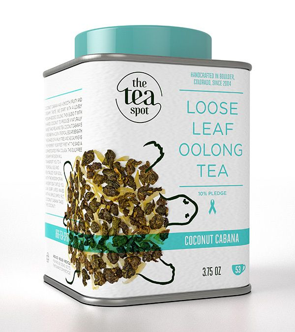 The Tea Spot Packagings by Chez Valois , via Behance