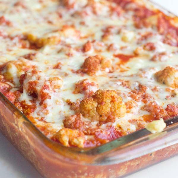 Italian Cauliflower and Quinoa Bake Recipe