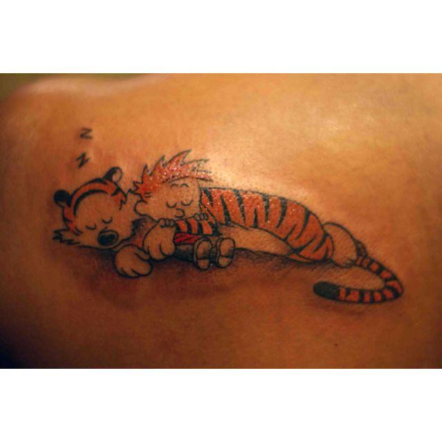 Calvin and Hobbes Tattoo.