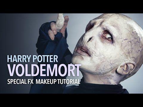 Voldemort Special FX Makeup Tutorial - YouTube