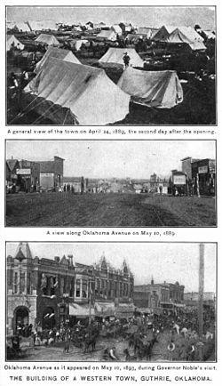 Guthrie~Oklahoma's First Capital