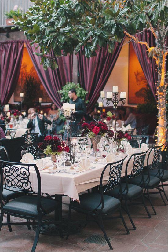 wedding reception at El Paseo Mexican Restaurant