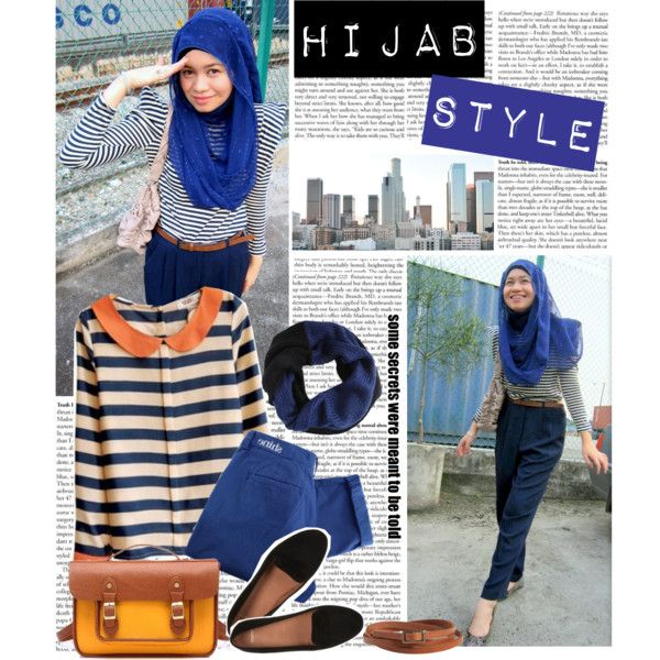 """Hijab Style"" by aisyahputri on Polyvore"