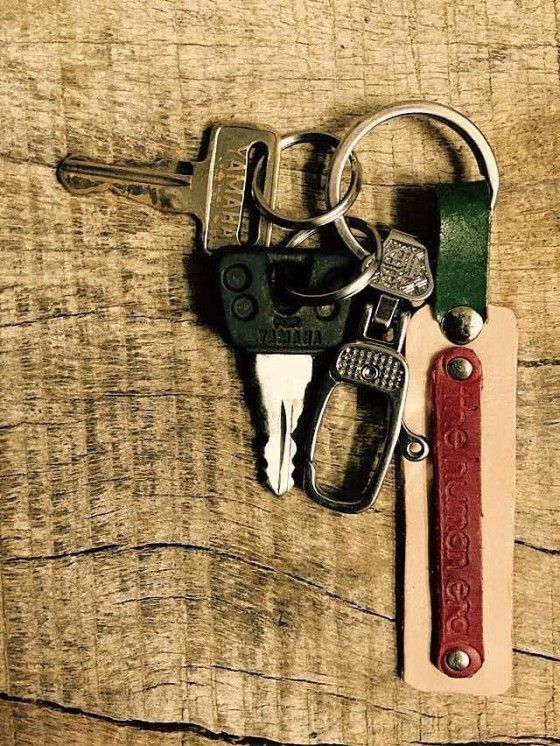 Shopo.in : Buy Custom Leather Keychain. online at best price in Udaipur, India