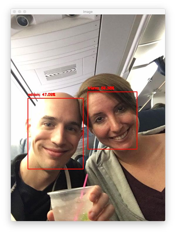 OpenCV Face Recognition - PyImageSearch | Deep Learning