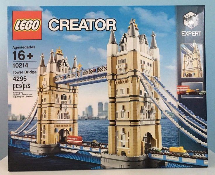 LEGO Tower Bridge Set 10214 Creator Expert Sealed Brand New Hard to Find