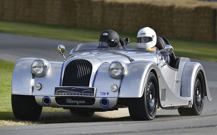 Morgan's new Plus 8 Speedster at the Goodwood Festival of Speed - Telegraph