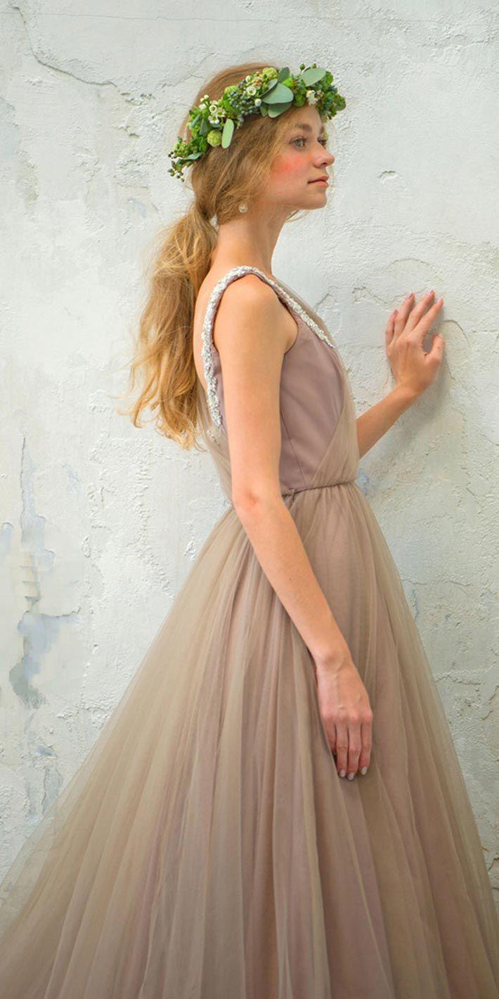 ニュートラル ニュアンス   カラードレス レンタル   THE TREAT DRESSING【トリートドレッシング】