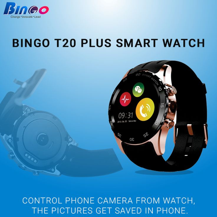 #Bingo #T20plus Get stylish circular smart watch with pedometer and heart rate monitor to maintain your lifestyle. Take advantage of our special offers. Shop online & save up to 45% .Hurry Up! Visit:http://bit.ly/2bKG2sW
