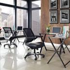 Edge Mesh Office Chair in Black