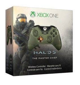 Xbox One Limited Edition Halo 5 Guardians Master Chief Wireless Controller1