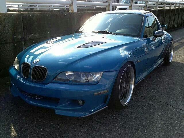 BMW Z3 with Hamann kit and hardtop
