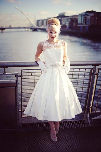 1950s wedding dress; this looks like my wedding dress 1996, i wore (30yr to the week) my mom's dress!